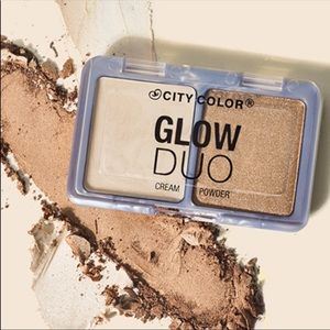 City Color Glow Duo Highlighter Brand New